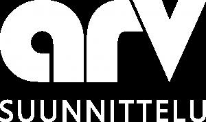 Arv Suunnittelu Logo Musta